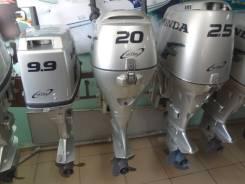 Honda. 20,00л.с., 4х тактный, бензин, нога S (381 мм), Год: 2003 год