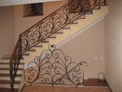 Изготовим кованые ограждения лестниц