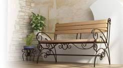 Изготовим кованую мебель для сада