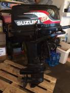 Suzuki. 30,00л.с., 2х тактный, бензин, нога S (381 мм), Год: 2004 год
