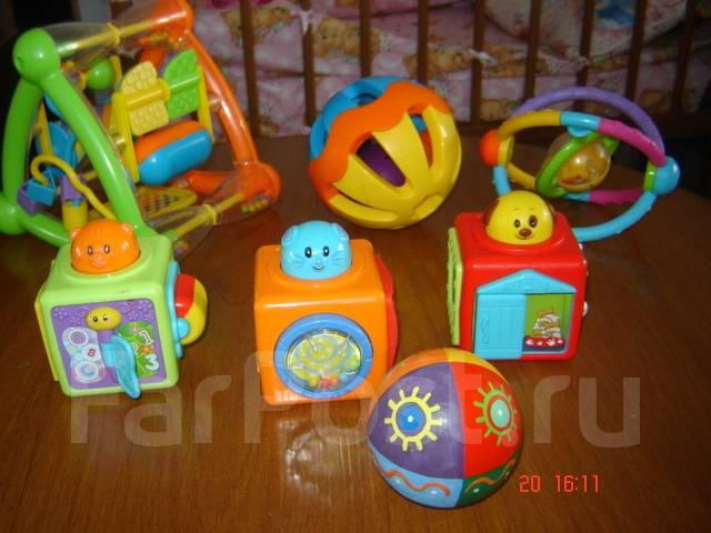 845dd84344de Огромный лот игрушек для малышей - Игрушки во Владивостоке