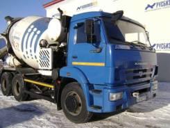 Камаз 58147A. Автобетоносмеситель 58147А шасси Камаз-65115-L4, (2015 г. в.,49 825 км), 6 700 куб. см., 7,00куб. м.