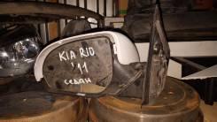 Зеркало заднего вида боковое. Kia Rio