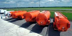 Bonum. Бензовоз полуприцеп-цистерна 28 000 литров, 3 000 куб. см., 28,00куб. м.
