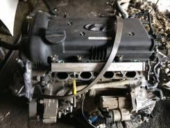 Двигатель в сборе. Hyundai Solaris, RB, UB Kia Rio, UB
