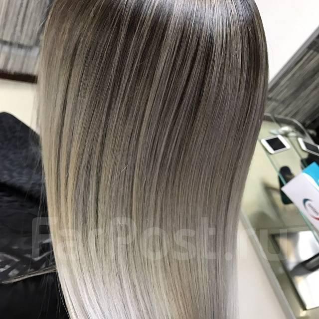 Окрашивание волос Омбре Балаяж Косметология и