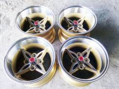 ~Far East~ OLD School JDM Enkei Riverside Riverge R14 / 9.0j -13. 9.0x14, 4x114.30, ET-13, ЦО 73,0 мм.