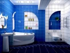 Ванные комнаты под ключ! качество 100%