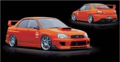 Бампер. Subaru Impreza WRX, GDB