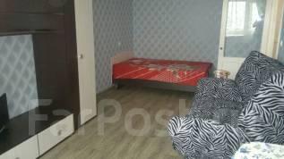 1-комнатная, улица Владивостокская 44. Железнодорожный, частное лицо, 30 кв.м.
