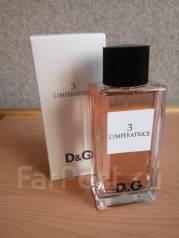 Изысканный, тонкий аромат L' Imperatrice, D&G, для настоящей леди!