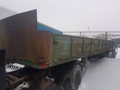 МАЗ. Полуприцеп бортовой маз 9380, 25 000 кг.