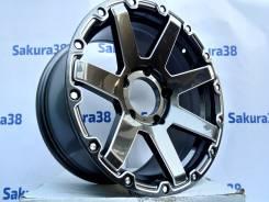 Sakura Wheels. 9.0x18, 5x150.00, ET25, ЦО 110,5мм.