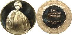 Германия Медаль Rembrandt в 1632 Серебро 925 ПРУФ