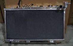 Радиатор охлаждения двигателя. Nissan Presea, HR11, PR11 Nissan Pulsar Nissan Sunny Двигатели: SR18DE, SR20DE