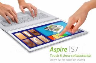 "Acer Aspire S7-392-74508G25tws. 13.3"", 1,8ГГц, ОЗУ 8192 МБ и больше, диск 256 Гб, WiFi, Bluetooth, аккумулятор на 6 ч."