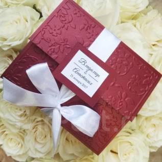 Пригласительные, банкетки и др аксессуары к Вашей свадьбе!. Под заказ