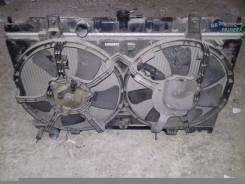 Радиатор охлаждения двигателя. Nissan Primera, TNP12, RP12, WTP12, WRP12, TP12, WTNP12 Двигатели: QR20DE, QR25DD