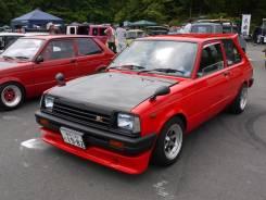 Toyota Starlet. KP61, 4KU