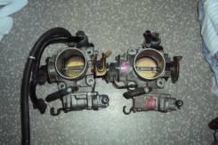 Заслонка дроссельная. Honda Stepwgn, GF-RF2, GF-RF1 Honda S-MX, GF-RH1, GF-RH2 Honda CR-V, E-RD1 Honda Orthia, E-EL2, E-EL3 Двигатель B20B