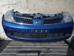 Решетка радиатора. Nissan Tiida, C11 Двигатель HR15DE