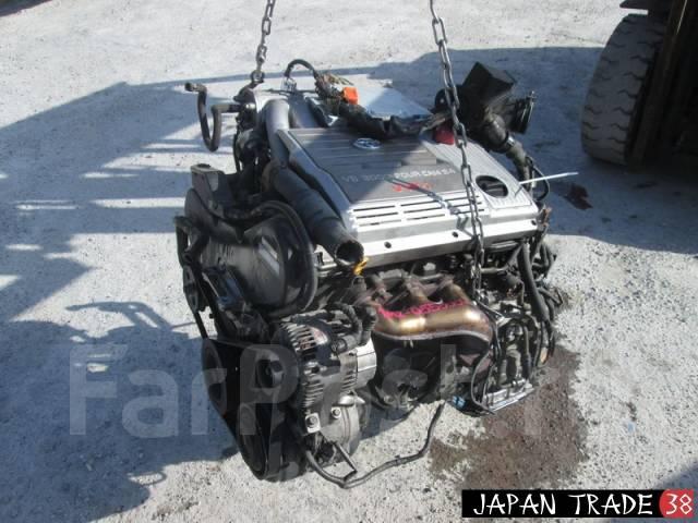 Двигатель в сборе. Toyota: Harrier, Kluger V, Highlander, Estima, Alphard Двигатель 1MZFE
