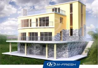 M-fresh Business. 400-500 кв. м., 3 этажа, 5 комнат, бетон