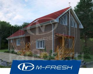M-fresh Laguna (Свежий проект дома с отдельными зонами отдыха! ). 100-200 кв. м., 1 этаж, 5 комнат, каркас