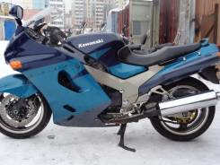 Kawasaki ZZR 1100D. 1 100 куб. см., исправен, птс, без пробега