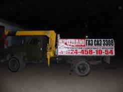 ГАЗ 53. Продается грузовик ГАЗ-самосвал с Краном, 4 500 куб. см., 5 000 кг.