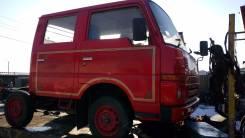 Механическая коробка переключения передач. Nissan Atlas, TF22 Двигатель TD23