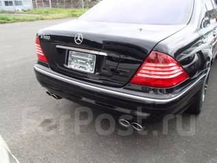 Насадка на глушитель. Mercedes-Benz S-Class, W220