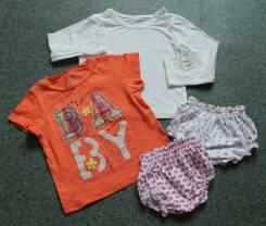 Лот вещичек для малышки. 1-2 года. Рост: 80-86, 86-98 см