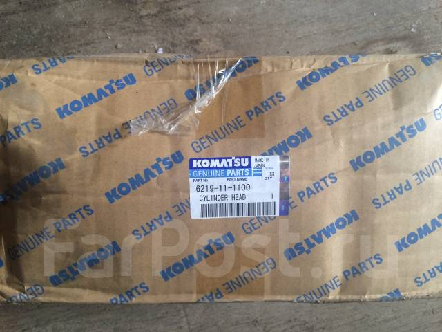 Головка блока цилиндров. Komatsu WA900 Komatsu PC2000 Komatsu PC2000-8 Komatsu HD785-7