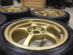 Шикарная Легкая 8кг Ковка RAYS Gram 57 R17 на Bridgestone RE11 2011г. 7.5x17 5x114.30 ET40 ЦО 73,0мм.