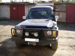 Nissan Safari. автомат, 4wd, 4.2 (145 л.с.), дизель, 260 тыс. км