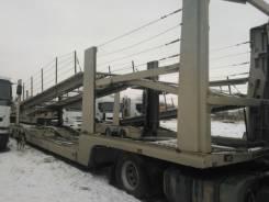 Lohr, 2011. Прицепы для автовоза LOHR S2M52X, 28 000 кг.