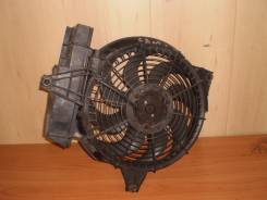 Вентилятор радиатора кондиционера. Hyundai Santa Fe