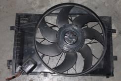 Вентилятор охлаждения радиатора. Mercedes-Benz CLK-Class Mercedes-Benz C-Class, W203