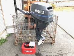 Yamaha. 15,00л.с., 4х тактный, бензин, нога S (381 мм), Год: 2015 год