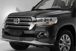 Обвес кузова аэродинамический. Toyota Land Cruiser, UZJ200W, J200, GRJ200, URJ200, URJ202, UZJ200, VDJ200, URJ202W Двигатели: 1VDFTV, 1URFE, 3URFE, 1G...