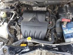 Крышка двигателя. Mitsubishi Lancer X