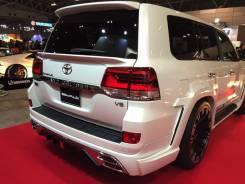 Обвес кузова аэродинамический. Toyota Land Cruiser, VDJ200, URJ202, URJ202W Двигатели: 1VDFTV, 1URFE