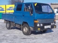 Toyota Toyoace. Хороший двухкабинный грузовик по адекватной цене., 2 500 куб. см., 1 250 кг.