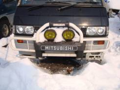 Бампер. Mitsubishi Delica Star Wagon, P35W, P25W Mitsubishi Delica, P25W, P35W Двигатель 4D56