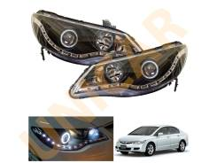 Линза фары. Honda Civic Hybrid Honda Civic Двигатели: LDA2, R18A1, R16A1, R16A2, R18A2. Под заказ