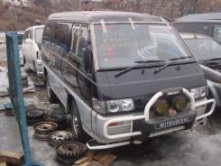 Крепление запасного колеса. Mitsubishi Delica, P25W, P35W Двигатель 4D56