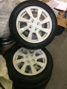 Диски литые кик с приоры 4х98 r15 белые+ Резина Pirelli p1 185/55 r15