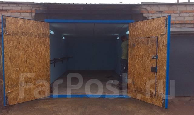 Гаражные ворота стоимостью от 25 000 рублей с монтажом.