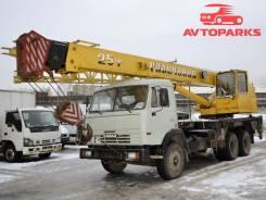 Галичанин. Автокран 25 тонн КС-55-713 на шасси Камаз, 11 850 куб. см., 25 000 кг., 21 м.